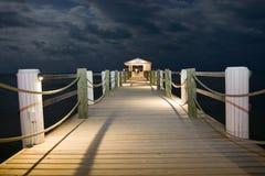 Nattskeppsdocka Fotografering för Bildbyråer