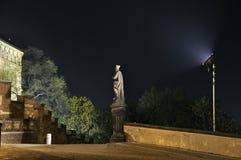 nattskulptur Fotografering för Bildbyråer