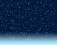 nattsky Arkivbild