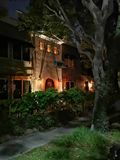 Nattslott fotografering för bildbyråer