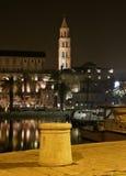 nattsplit för hamn 2 Arkivfoton