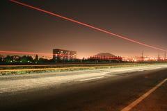 Nattstad Arkivfoton