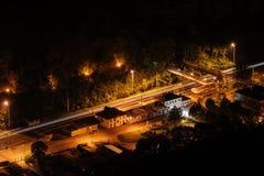 Nattstation Arkivfoton