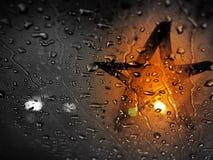 nattstjärna fotografering för bildbyråer
