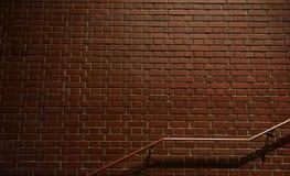 Natttegelstenvägg Royaltyfria Bilder