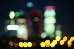 natttown Fotografering för Bildbyråer