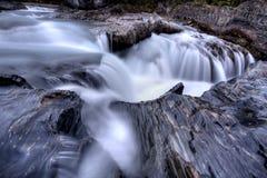 Nattural Bridge Yoho National Park Royalty Free Stock Images