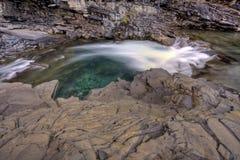 Nattural Bridge Yoho National Park Royalty Free Stock Photography