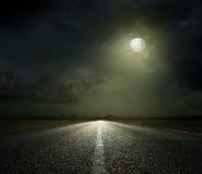 Nattväg Royaltyfri Foto
