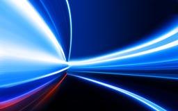 nattväghastighet Arkivbild