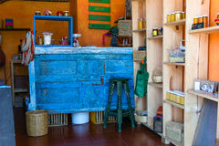 Natualist store interior Stock Images