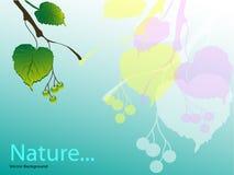 natur royaltyfri illustrationer