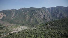 Natur in Armenien-Himmel, Reise, Landschaft, Hintergrund, Tourismus, Berg, Panorama stock video footage
