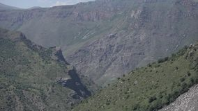 Natur in Armenien-Himmel, Reise, Landschaft, Hintergrund, Tourismus, Berg, Panorama stock video