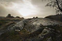 Natur außerhalb Stockholms, Schweden Lizenzfreies Stockbild