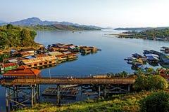 Natur auf Songkarie-Fluss Lizenzfreies Stockbild