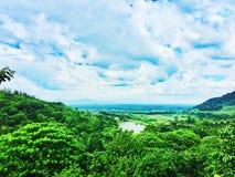 Natur av berget fotografering för bildbyråer