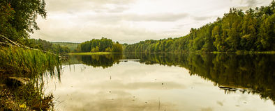 Natur av Finland Arkivbilder