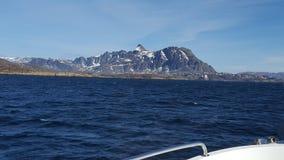 Natur av Grönland Royaltyfria Foton