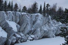 Natur av Karelia Royaltyfri Bild
