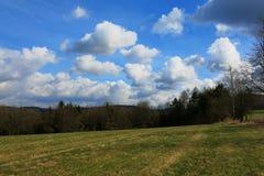 Natur av mellersta Bohemia Arkivbilder