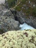 Natur av Norge - vattenfall Royaltyfri Fotografi
