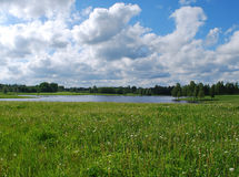 Natur am Bezirk von Kuldiga. stockfotos