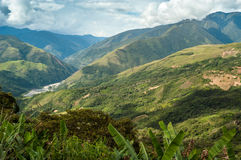 Natur in Bolivien Stockbild