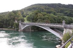 Natur in der Schweiz, Aarburg Stockbilder
