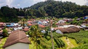 Natur-Dorf Stockfotografie