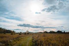 Natur geht durch Ohio-Parks im Herbst Stockfotos