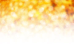 Natur gelbes bokeh Lizenzfreies Stockbild