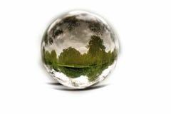 Natur getrennt in einer Luftblase. Stockfotos
