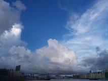 Natur HK-Zentrale lizenzfreie stockfotos