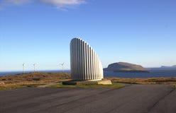 Natur i Faroeen Island Arkivfoton