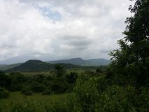 Natur i Indien Arkivfoton