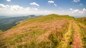 Natur i Serbien Stara Planina Royaltyfria Bilder