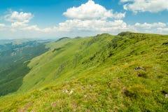 Natur i Serbien Stara Planina Royaltyfri Bild
