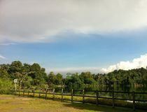 Natur-Insel-Ansicht lizenzfreies stockfoto