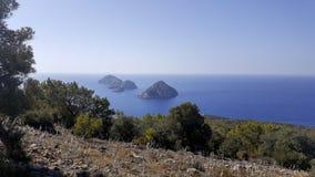 Natur-Landschaft in Antalya stockfotos