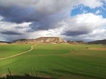 Natur-Landschaft Spanien Torres stockbild