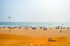 Natur-Landschaftsreise-Ferien-Feiertags-Konzept Fotografie von sehen Strand während des Weihnachtsneuen Jahres stockfotos