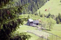Natur, Lansdcape, Haus Stockbild