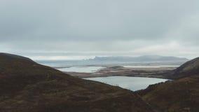 Natur in Nord-Norwegen stock footage