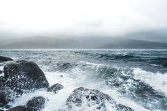 Natur in Nord-Norwegen stockbild