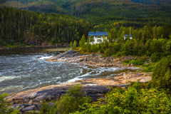 Natur in Nord-Norwegen Lizenzfreies Stockfoto