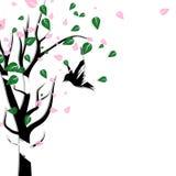 Natur och djur djurlivdesign med konst Co för grungeborstepapper stock illustrationer