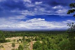 Natur och himmel Arkivbild
