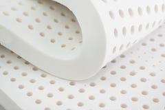Natur Para lateksowa guma, poduszka i materac, zdjęcia royalty free