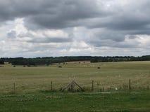 Natur runt om Stonehengen fotografering för bildbyråer